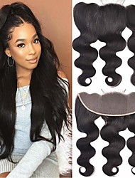cheap -1 Bundle Brazilian Hair Body Wave 100% Remy Hair Weave Bundles Natural Color Hair Weaves / Hair Bulk Human Hair Extensions 8-20inch Natural Color Human Hair Weaves Newborn Waterfall Cute Human Hair
