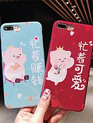 baratos -Capinha Para Apple iPhone X / iPhone XS Max IMD / Estampada / Glitter Brilhante Capa traseira Palavra / Frase / Desenho Animado / Glitter Brilhante Macia silica Gel para iPhone XS / iPhone XR