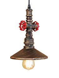 Недорогие -старинные промышленные трубы подвесные светильники металлическая тень гостиная спальня ресторан кафе бар украшения освещение
