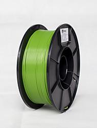 voordelige -gree kleur pla materiaal 1.75mm 1kg voor 3d-printer