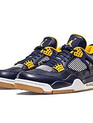 hesapli -Erkek Ayakkabı Suni Deri İlkbahar yaz Atletik Ayakkabılar Basketbol Atletik için Mavi
