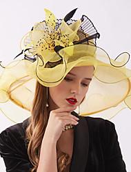 ราคาถูก -ผ้าไหมแก้ว ฮารด์แวร์ กับ ดอกไม้ / รัฟเฟิล 1 ชิ้น งานแต่งงาน / กีฬา & กิจกรรมกลางแจ้ง หูฟัง