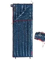 Недорогие -Naturehike Спальный мешок на открытом воздухе Прямоугольный 8 °C Пух белого гуся Легкость Дышащий Сохраняет тепло Мягкий Молния YKK 190*72 cm Весна & осень для / Сделай это двойным