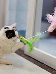 olcso -Interaktív Ugratások Püsh játékok Háziállat-barát Hordozható Szeretetreméltő Szilikon Terylene Kompatibilitás Macskák