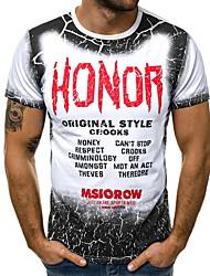 cheap -Men's T-shirt - Letter White XL