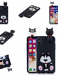 billige -Etui Til Apple iPhone XR / iPhone XS Max Mønster Bagcover Hund / Tegneserie Blødt TPU for iPhone XS / iPhone XR / iPhone XS Max