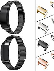 Недорогие -Ремешок для часов для Gear Fit 2 Samsung Galaxy Спортивный ремешок Нержавеющая сталь Повязка на запястье