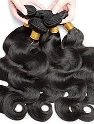 voordelige -6 bundels Braziliaans haar BodyGolf Mensen Remy Haar Helm Menselijk haar weeft Bundle Hair 8-28 inch(es) Natuurlijke Kleur Menselijk haar weeft Zacht Gemakkelijke dressing Beste kwaliteit Extensions