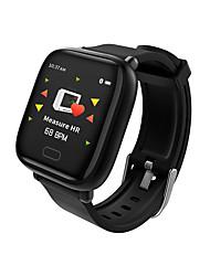 olcso -Factory OEM VO421D Uniszex Intelligens Watch Android iOS Bluetooth Vízálló Szívritmus monitorizálás Vérnyomásmérés Érintőképernyő Elégetett kalória Lépésszámláló Hívás emlékeztető Testmozgásfigyel
