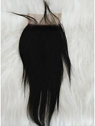 Χαμηλού Κόστους -Μαλλιά για πλεξούδες Ίσιο Άλλα Φυσικά μαλλιά 1 Τεμάχιο μαλλιά Πλεξούδες Μαύρο 8 inch 8 ίντσεςch Γυναικεία Γενέθλια Περουβιανή