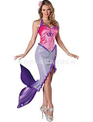 26faa6e7c750 levne Filmové a TV kostýmy-The Little Mermaid Šaty Cosplay Kostýmy Dámské  Filmové kostýmy Růžová