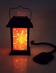 levne -1ks 0.2 W Venkovní nástěnné světlo / Lední osvětlení Solární / Ozdobné Vícebarevné 1.2 V Venkovní osvětlení / Nádvoří / Zahrada LED korálky