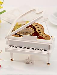 hesapli -piyano modeli müzik kutusu dönen kız müzik kutusu
