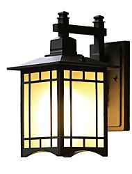hesapli -Duvar ışığı Aşağı Doğru Dış Duvar Işıkları 60 W 110-120V / 220-240V E26 / E27 Retro / Ülke
