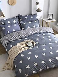billige -Sengesett Moderne Polyester Trykket 4 delerBedding Sets