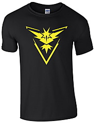 economico -T-shirt Per uomo Con stampe, Pop art Nero XL
