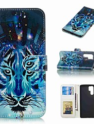 cheap -Case For Huawei Huawei P30 Pro / P10 Plus Wallet / Card Holder / Flip Full Body Cases Animal Hard PU Leather for Huawei P30 / Huawei P30 Pro / P10 Plus