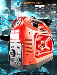 Недорогие -автомобиль скачок стартер автомобиль аварийный старт питания автомобиля мобильный источник питания привело мощность двойной порт USB