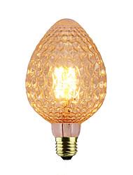hesapli -1pc 40 W E26 / E27 1800-2200 k Incandescent Vintage Edison Ampul 220-240 V / 110-130 V