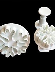 Χαμηλού Κόστους -3pcs Σιλικόνη Δημιουργική Κουζίνα Gadget Καινοτόμα εργαλεία κουζίνας Εργαλεία επιδόρπιο Εργαλεία ψησίματος