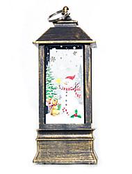 Недорогие -рождественские свечи новинка светильники подсвечник декоративные лампы домашнего декора рождественский подарок висит рождественский декор л