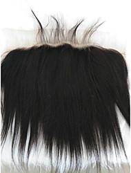 billige -Fletning af hår Lige Andre Menneskehår 1 Stykke Hårfletninger Sort 8 inch 8 tommer (ca. 20cm) Dame Fest / aften malaysisk hår