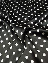 ieftine -Satin Geometric Ελαστικό 108 cm lăţime țesătură pentru Îmbrăcăminte și modă vândut langa 0,45M