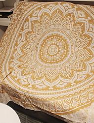 Недорогие -Высшее качество Пляжное полотенце, Реактивная печать 100% полиэстер 1 pcs