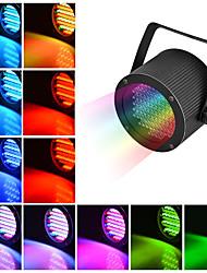 abordables -1 set led stage light 86 perle par lumière polychrome coloration lumière dmx512 contrôle sonore clair fond dj bar salle de bal décoration lumière