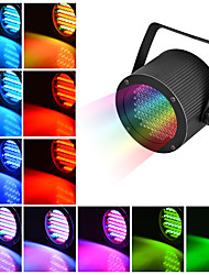 cheap -1 set LED Stage Light 86 Pearl Par Light Full Color Staining Light DMX512 Sound Control Light Background Light DJ Bar Ballroom Decoration Light