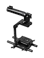 Недорогие -Клетка для фотоаппарата с верхней ручкой для крепления штатива для Canon Nikon Sony Panasonnic C1136