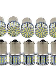 Недорогие -10 шт. 1156 Автомобиль Лампы 3 W SMD 3014 600 lm 50 Светодиодная лампа Лампа поворотного сигнала / Тормозные огни / Фонари заднего хода (резервные) Назначение Универсальный Все года