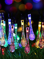 Недорогие -1 компл. Светодиодный шнур свет 20 легкий капель воды таинственный водяной пар пузырь капли воды ночной свет фонарь USB