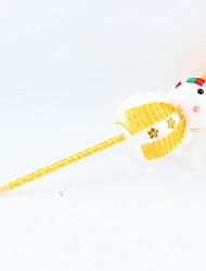 Χαμηλού Κόστους -Χριστούγεννα πλαστικό / πολυ δράκος χιονάνθρωπος στυλό μπάλες μπλε μολύβι μολύβι για το γραφείο&amp σχολικές προμήθειες 1pc