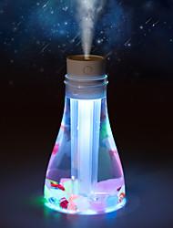 baratos -Criativo voto garrafa umidificador desktop doméstico usb deslumbrante purificador de ar
