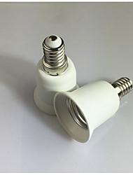 cheap -1pc E14 to E27 E14 100-240 V Converter Plastic Light Bulb Socket