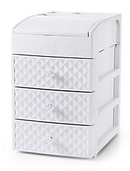 levne -vícevrstvý odnímatelný úložný box velkokapacitní stolní dokončovací stojan kosmetický plastový úložný box