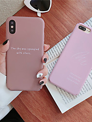 Недорогие -чехол для яблока iphone xr / iphone xs max шаблон задняя крышка слово / словосочетание hard tpu для iphone x xs 8 8plus 7 7plus 6 6plus 6s 6s plus