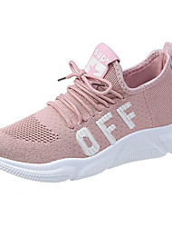 ราคาถูก -สำหรับผู้หญิง Tissage Volant ฤดูร้อนฤดูใบไม้ผลิ รองเท้ากีฬา สำหรับวิ่ง ส้นแบน สีดำ / สีเทา / สีชมพู