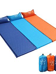 Недорогие -Sheng yuan Коврик-пенка Самонадувающийся спальный коврик Надувной матрас Сделай это двойным На открытом воздухе Походы Компактность Теплоизоляция Влагонепроницаемый ПВХ Брезент ПВХ 185*65 cm