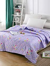 billige -Komfortabel - 1stk dyne Forår / Sommer Polyester Blomstret / Simpel / Blandet farve