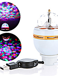 cheap -1 set 3 W 3000 lm 3 LED Beads Creative Easy Install Lovely LED Stage Light / Spot Light RGB Commercial Home / Office Living Room / Dining Room