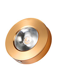 Недорогие -1шт 3 W 330 lm 1 Светодиодные бусины Простая установка Встроенное освещение Потолочный светильник LED освещение для шкафчиков Тёплый белый Холодный белый 220-240 V / RoHs / CE