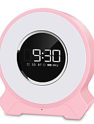 Недорогие -Новая частная модель будильник лампа пробуждения Bluetooth динамик беспроводной интеллектуальный Bluetooth звуковой ящик маленький настольная лампа