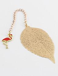 Недорогие -Закладка листьев Pandent фламинго сплава способа для канцелярских принадлежностей отдыха офиса