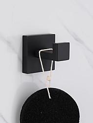 abordables -Crochet à Peignoir Design nouveau / Créatif Moderne Acier Inoxydable / Acier inoxydable / fer / Métal 1pc - Salle de Bain Montage mural