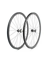 Недорогие -FARSPORTS 700CC Колесные пары Велоспорт 25 mm Шоссейный велосипед Углеродное волокно Подходит для клинчерной покрышки / бескамерной шины 24/24 Спицы Прочее / 30 mm