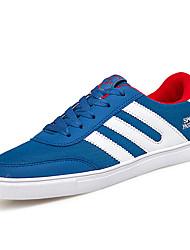 economico -Per uomo Scarpe comfort Retato / PU (Poliuretano) Primavera estate Casual Sneakers Antiscivolo Monocolore Nero / Rosso / Blu
