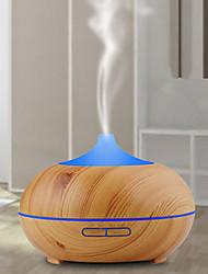 Недорогие -1 шт. 7 цвет светодиодный свет ночи древесины увлажнитель зерна творческий дом очистки воздуха увлажнитель ночник эфирное масло ароматерапия машина ультразвуковой очиститель воздуха