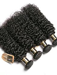voordelige -6 bundels Braziliaans haar Kinky Curly 100% Remy haarweefselbundels Menselijk haar weeft Bundle Hair Een Pack Solution 8-28 inch(es) Natuurlijke Kleur Menselijk haar weeft Geurvrij Gemakkelijke